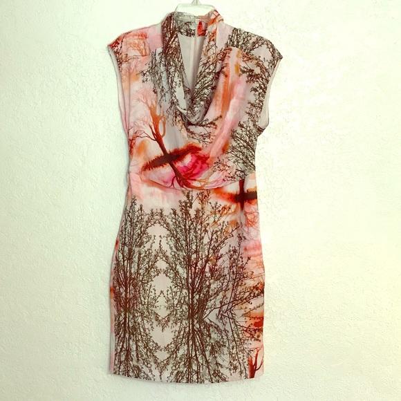Ted Baker London Dresses & Skirts - Ted Baker London cowl neck mini dress.